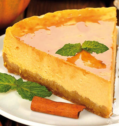 preparare cheesecake alla zucca