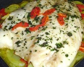 ricetta persico al forno