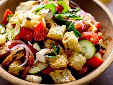 preparare insalata panzella