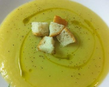 ricetta zuppa di porri con patate