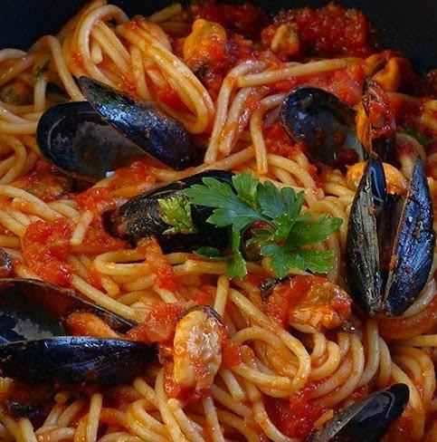ricetta spaghetto con cozze