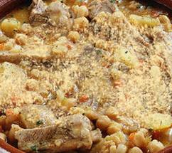 ricetta zuppa di ceci