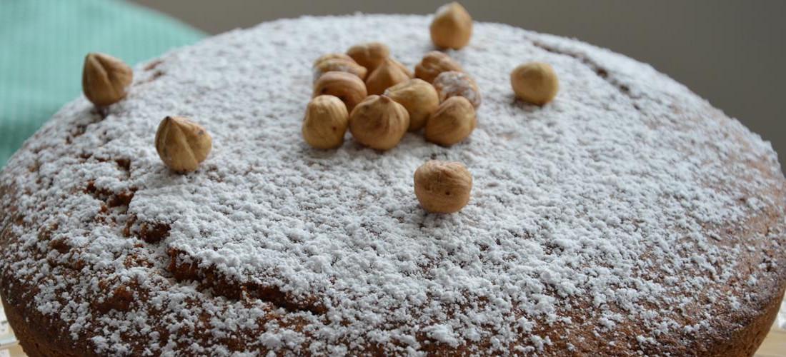 ricetta torta nocciole